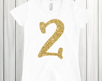 Two year old birthday shirt Birthday girl shirt Two glitter birthday 2 birthday shirt Im two fancy Two birthday outfit Second birthday