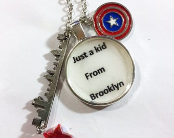 Steve Rogers Inspired Necklace