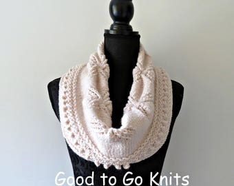 Download Now - Knitting Pattern - PDF DOWNLOAD ONLY, Cowl, Shawl, Shoulder Wrap