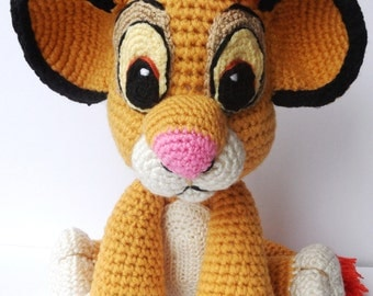 Ready for Shipping! The Lion Guard Kion Plush- The Lion Guard Inspired Kion Soft Toy