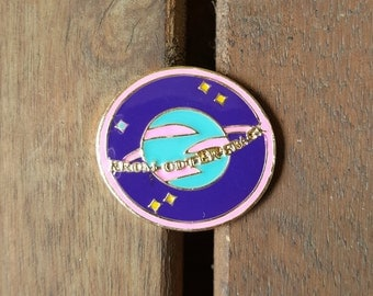 From Outer Space Enamel lapel Pin