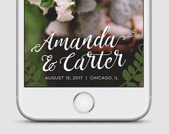 Whimsical Wedding Snapchat Filter, Wedding Snapchat Geofilter, Wedding Snapchat, Wedding Geofilter, Wedding Filter