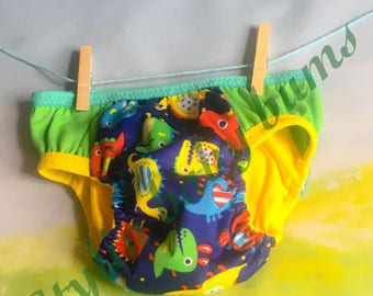 Size LARGE boys cloth trainer dines pull up- FREE SHIPPING