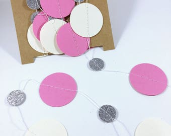 Paper Garland - Party Paper Garland - Party Decoration - Party Supplies - Party Decor