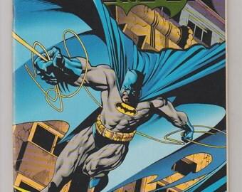 Batman; Vol 1, 500 (Metalized Cardstock Double Cover) Modern Age Comic Book. VF+. Oct 1993.  DC Comics