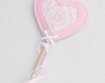 Princess Wand - Lace Wand - Fairy Wand - Princess wand - Boho Party Favour - Magic wand - Ribbon Wand - Boho Party - Gift Under 15