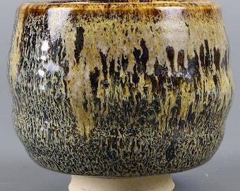 Tea Bowl in Speckled Hen Glaze