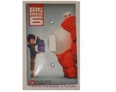 Disney The Big Hero 6 Toggle, Rocker Light Switch & Power Duplex Outlet Plate Cover home decor