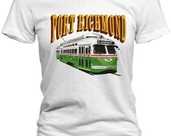 Retro Port Richmond Philadelphia Shirt