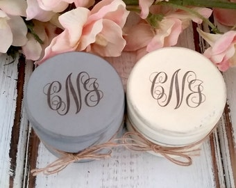 Personalized Ring Holder   Ring Box   Rustic Wedding   Set of Two, Engraved Wooden Ring Boxes, Ring Bearer Boxes, Burlap, Monogrammed Box