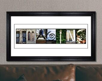 Imagine Inspirational Print, Imagine Sign, Letter Art, Alphabet Letter Photography, Inspirational Sign
