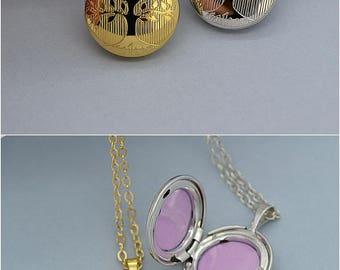 Locket Necklace, Photo Locket, Gold Locket, Locket Pendant, Mother's Necklace, Gift For Mom, Picture Locket, Locket Jewelry
