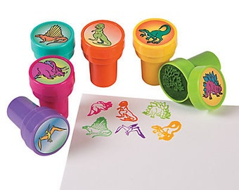 6/ Dinosaur Party favor Stamps / Party favors