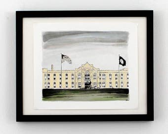 The Barracks - Virginia Military Institute (VMI) - Lexington, Va