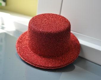 SIMPLE Plain Sequins Mini Top Hat DIY - Multicolor