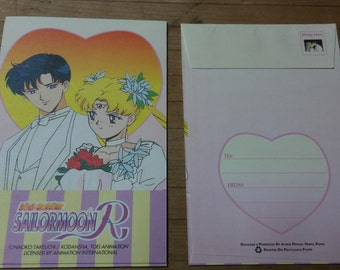 Vintage Sailor Moon Stationary Set