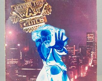 Jethro Tull War Child 1974 Original Vintage Classic Rock Chrysalis Vinyl Record Album LP