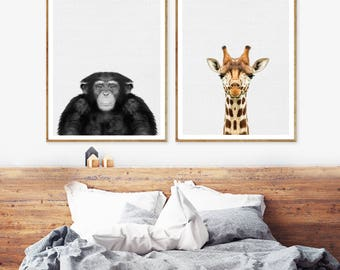 Wall art poster, Wall art prints, wall art canvas, Wall art set, home wall decor, Best seller, Animal Print Art, Animal Poster,Dorm Wall Art