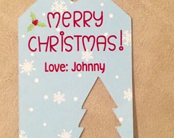 Christmas Favor tags