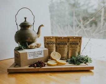 Herbal Detox Tea; liver kidney support, blood cleanse, teatox, organic loose leaf tea