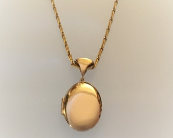 Gold Locket  - Handmade Douglas Hughes Design