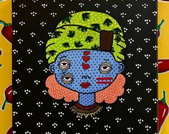 Ethnic Lady - Canva