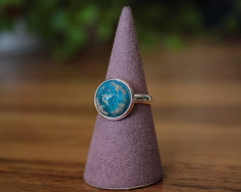 Turquoise blue Starry Sky Ring