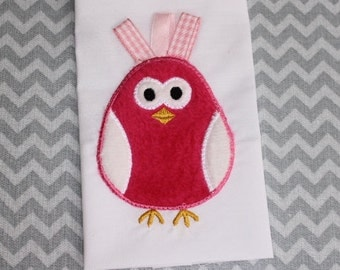 Baby Applique Machine Embroidery Design Baby Chick
