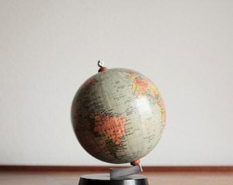 Vintage Small World Globe - German