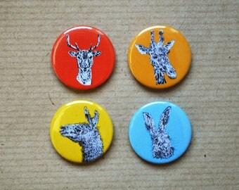 Ink + Fur - Badge Pack