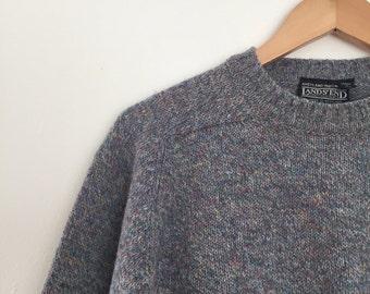 vintage Lands' End women's wool sweater