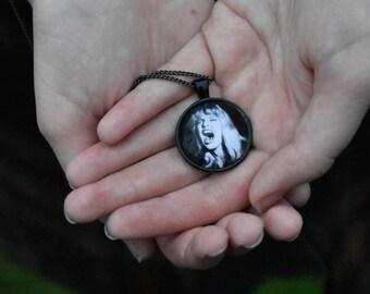 Twin Peaks Laura Palmer Black Lodge Pendant Necklace