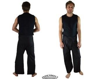 Thai Fisherman EXTRA LONG LENGTH! Pants Wrap Pants black