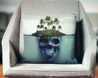 Skull Pillow   Skull Throw Pillow   Skull Decor   Skull Gifts   Skull Decoration   Skull Cushion