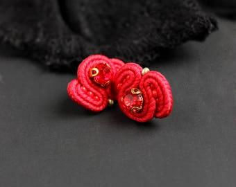 Tiny earrings   Etsy