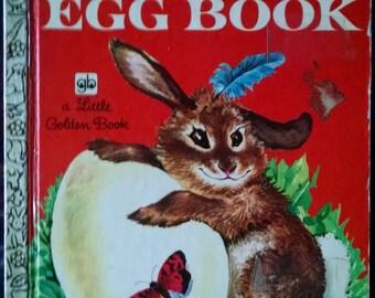 The Golden Egg Book. A vintage Little Golden Book.