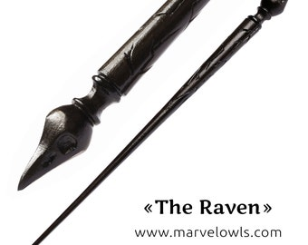 The Raven - Marvelowls Wizard Wands Shop