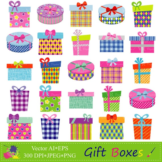 Gift Boxes Clipart Gifts Clipart Presents Clip Art