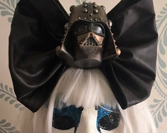 Steampunk star wars Darth Vader BIG BOW, cosplay, crossover cosplay