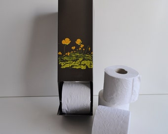 Brabantia Toiletpaper Holder   Vintage Dutch Toilet Paper Storage   Retro  Bathroom   Toiletpaper Storage With