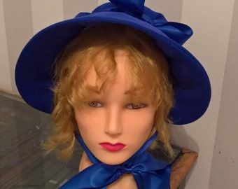 Handmade Regency Bonnet, Made to Order