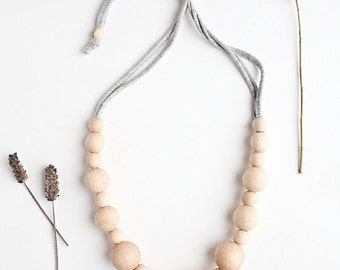 Teething Necklace - Wooden Nursing Necklace - Baby Necklace - Toddler Necklace - Mommy Necklace - Mommy to Be - Shower Gift - Nursing Wrap