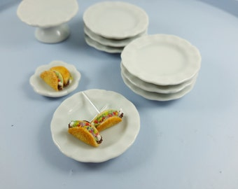 Miniature Taco Earrings, Taco studs, Food Jewelry, Polymer Clay Food, Miniature Food Earrings, polymer clay jewelry, Mexican food earrings