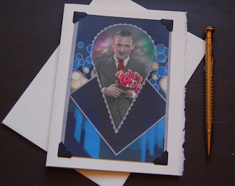 Vintage Gay Card, LGBTQ - Deco Devine - gay proposal, engagement card, gay valentine