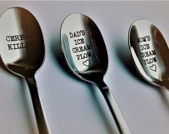 Personalized spoon, Create your own personalized spoon gift idea, Phrase of your choice, Custom Spoon, Unique gift, birthday, housewarming