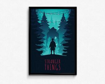 Stranger Things Eleven Poster Print