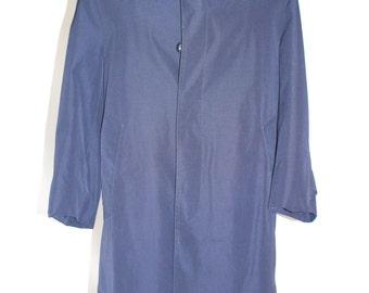 SALE* Vintage Clothing • London Fog • Maincoats All-Weather-Coat • 1980s Classic Navy Raincoat  • Trenchcoat