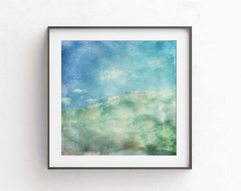 Dreamy photography 10x10 Printable picture Wall art decor Living room decor House wall art Pastel picture Square decor Heaven photo Wall art