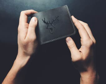 Personalized Wallet, Mens Wallet, Personalized Purse, Card Holder, Mens Leather Wallet, Leather Wallet, Minimalist Wallet, Slim wallet