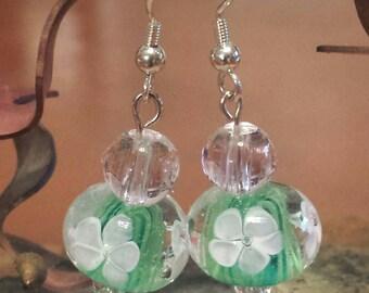 Chech Glass Spring Earrings